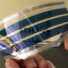 Organic solar cells – even greener solar energy and the architects' dream