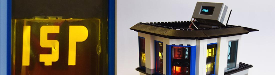OLEDs betrieben von organischen Solarzellen im Legomodell
