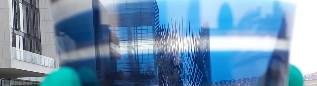Semitransparentes Solarzellenmodul